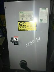 Asco200 Amp Automatic Transfer Switch240 Vacwith 100a Cb Disconnect
