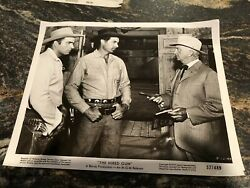 Vintage 1957 8andrdquo X 10andrdquo Real Movie Photo Ben Casey Vince Edwards The Hired Gun