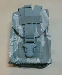 New Molle Ii Army Canteen Cover Utility Pouch Acu Digital Camo Usgi Co/pd-02-02