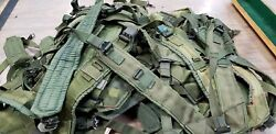 25 Us Military Alice Y Suspenders Lbe Load Bearing Shoulder Web Harness Od Lot