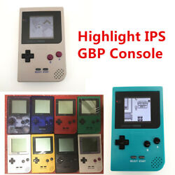 Multi-color Game Boy Pocket Gbp Game Console With 5 Segment Back Light Lcd Kit