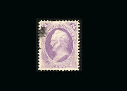 Us Stamp Used Super B S153andnbsp Gem With Light Black Cancel Very Fresh Outstandi