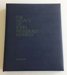Lincoln Mint The Legacy Of John Fitzgerald Kennedy 36 Bronze Medal Set Rare