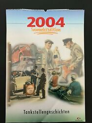 Esso Oil Large Calendar Art Poster Print 2004 Collectorand039s Edition Gas Stations