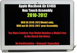 Macbook Air 13 Lcd Screen Display Assembly 2010-2011 A1369 A1466 2012 Only