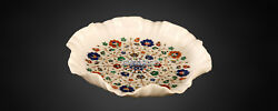 16 Marble Designer Fruit Serving Bowl Inlaid Fine Gift Home Accessories Decor