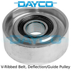 Dayco V-ribbed Belt Idler Deflection/guide Pulley - Apv2080 - Eo Quality