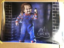 Brad Dourif Childs Play Hand Signed24x36 Huge Photo Poster