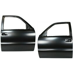 New Set Of 2 Door Shells Front Driver And Passenger Side For Chevy Avalanche Pair