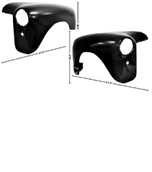Gmc Pickup Truck Front Fender Set Left And Right 1947-1953