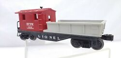 Rare Lionel Train Work Caboose Factory Mistake Lionel Only On 1 Side Of Frame
