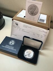 2019-s American Eagle One Ounce Silver Enhanced Reverse Proof Coin Sf Mint