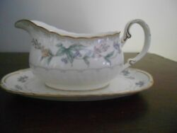 Noritake Brookhollow Gravy Boat And Liner  4704 Only Displayed.