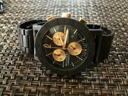 Watches Bvlgari Carbon Gold Limited Product 38mm Yellow
