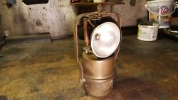 Antique The Milburn Miner A Mining Lamp Baltimore, U.s.a. Carbide-nice Example