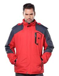 AdirPro Men's Max Lithium-Ion Soft Shell Heated Jacket with tags $49.99