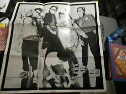 Poster Vintage Early Band Photo 23 X 24 Photographed By Jules Bates