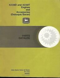 John Deere 4239d And 4239t Engines And Accessories Parts Catalog