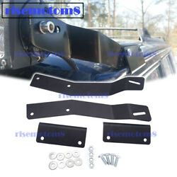 No Drilling 50 Led Light Bar Above Windshield Mount For Jeep Cherokee Xj 84-01