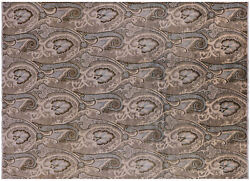 William Morris Hand Knotted Wool Rug 8and039 11 X 12and039 5 - P6880