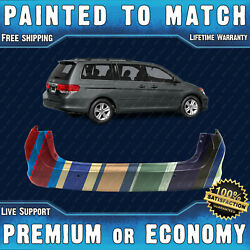 New Painted To Match Rear Bumper Replacement For 2005-2010 Honda Odyssey Touring