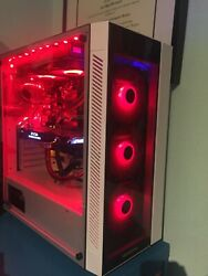 Overclocked Custom Water Cooled Gaming Pc 2700x Overclocked Gtx 1080 2tb Hdd