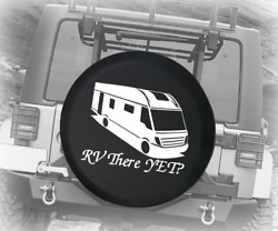 Spare Tire Cover Rv There Yet Motorhome Auto Accessories