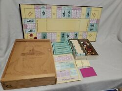 1983 The Winery Game - Board Game Manage A Winery From Grapes To Wine 2-6 Player