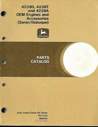 John Deere 4239d,4239a, And 4239t Engines And Accessories Parts Catalog
