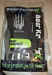 Bear Komplex 3 Hole Hand Grips S Great For Cross-fit, Gymnastics, Weightlifting