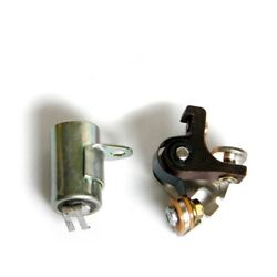 1971-73 Yamaha Condenser Contact Points Kit Tune Up Ct1 Ct2 Ct3 Ht1 Lt2 Lt3 At2