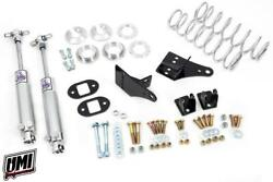 """Umi Performance 78-88 Monte Carlo Rear Coilover Kit, Bolt In, 2""""-3"""" Drop"""