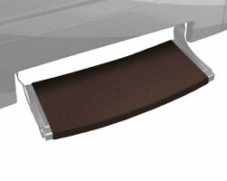 Prest-o-fit 2-0385 Outrigger Radius Xt Rv Step Rug Chocolate Brown 22 In. Wide