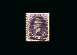 Us Stamp Used, Xf S218- Foreign Mail Supplemental Circle 2 Cancel, Very Large M
