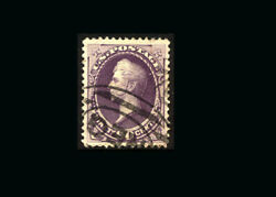 Us Stamp Used, Xf/super B S218- Nice Cancel, Excellent Color