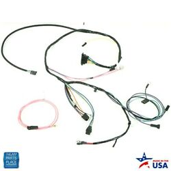 1965-66 Impala Bel Air Caprice Engine Harness Hei V8 283 327 Warning Lights And Ac