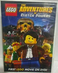 The Adventures of Clutch Powers LEGO HOWARD E. BAKER DIRECTOR DVD $6.00