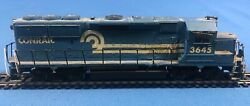 Vintage Athearn Conrail Ho Gp50 Diesel Locomotive Customized And Weathered Engine