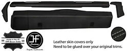 Grey Stitch Dashboard 5 Piece Leather Covers Kit For Land Rover Series 2 2a 3