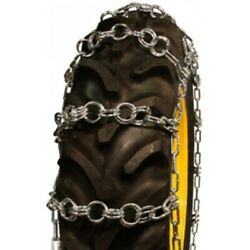 Double Ring Pattern 20.8-34 Tractor Tire Chains - Nw790