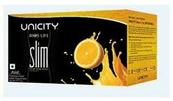 4 X Pack Of Bios Life Slim By Unicity For Fat Loss, A Dietary Drink - 30 Sachets