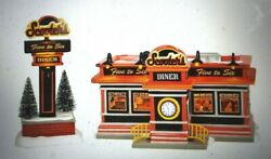 Scooter's Dinner Animated Snow Village Dept 56 New N Box 6003135 Ships Free 185