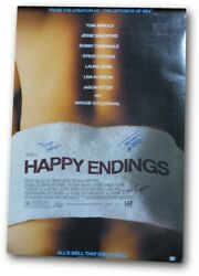 Happy Endings Multi Autographed Movie Poster Tom Arnold Ritter Roos Gv907030
