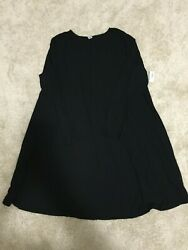 NWT Old Navy Black Swing Dress - Size 2X - Cute with Leggings