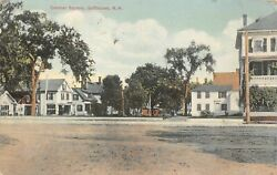 A186  Goffstown, N.h.  Postcard, Central Square