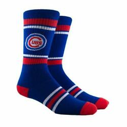 Chicago Cubs MLB Red Blue Gift Stripe Crew Socks Men Youth Rizzo Bryant Darvish $9.99