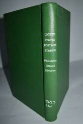 United States Vintage Postage Stamps Philatelic Affairs Division 1847 To 1971