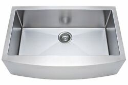 New Franke Kinetic 33 Apron Front Farm House Undermount Kitchen Sink Stainless