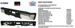 Replacement Step Bumper Assembly For Chevrolet, Gmc Rear Gm1103151dsc