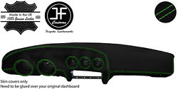 Green Stitching Dash Dashboard Luxe Suede Cover Fits Datsun 260z 2+2 Jf1